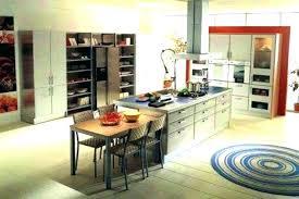 modeles de cuisine avec ilot central cuisine avec ilot central et table cuisine avec ilot central et