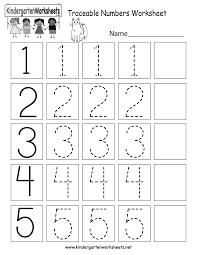 number worksheets kindergarten free worksheets library download
