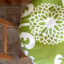 decorating interesting choice of design bar stool cushion for