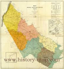 Virginia Counties Map by Prince William County Virginia