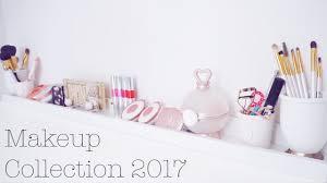 makeup collection 2017 makeup storage diy ikea hack ideas youtube
