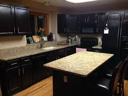 Gel Stain Kitchen Cabinets Before After Staining Kitchen Cabinets Before And After Home Design Ideas