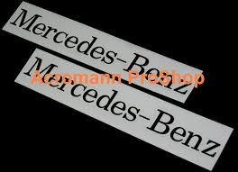 mercedes decal acromann shop