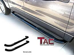 jeep patriot nerf bars amazon com tac 2007 2016 jeep patriot 3 black side bar nerf