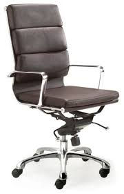 Upright Armchairs C2160 Eames Soft Padded High Back Office Chair Contemporary