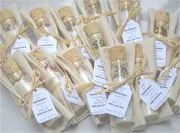 tea party bridal shower favors the goodness of dried herbs mixed with mineral rich sea salts