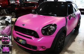 matte pink porsche chameleon sprayfilm
