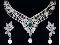 diamond necklace sets images Heavy diamond necklace set diamonds diamond jewels deep jpg