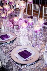 purple decorations and purple wedding decorations