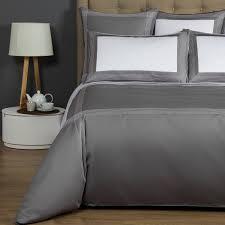 porto slate grey king duvet cover frette touch of modern