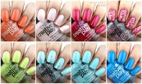 cnd creative play playland collection review and swatches the