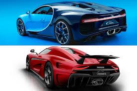 bmw hypercar hypercar face off bugatti chiron vs koenigsegg regera