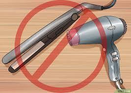 Rekomendasi Hair Dryer Bagus cara berubah dari rambut rebonding menjadi rambut alami wikihow