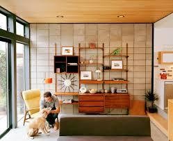 Living Room Wall Furniture Design Jake Stangel Mid Century Modern Living Room Danish Teak Wall