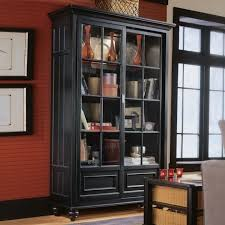 black bookcases with glass doors small bookcase with glass doors portofinos us