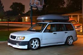 subaru forester lowered xceedspeed