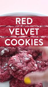 red velvet cookie recipe need we say more well said well