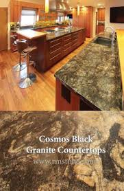 the stone in this kitchen is black titanium from brazil with a