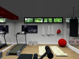 Small Home Gym Ideas Great Gym For A Smaller Basement Home Gym Ideas Pinterest