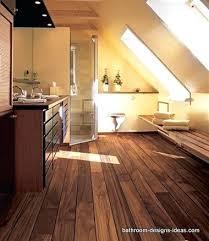 Ideas For Bathroom Waterproofing Marvelous Wood Floors For Bathrooms Appealing Bathrooms With Wood