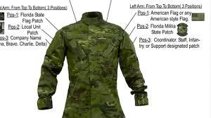 Uniform Flag Patch Florida Militia Uniform Guide Youtube