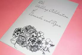 Wedding Program Paper Stock Weddings The Classic Invitation U0027s Weblog