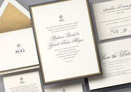 classic wedding invitations feature friday the regal wedding invitation suite from classic i