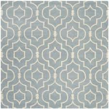 Square Wool Rug Safavieh Handmade Moroccan Grey Large Geometric Wool Rug 7