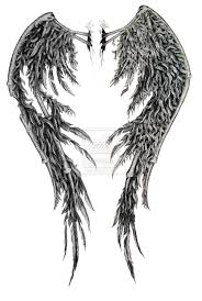 wing back tattoos for guys cool angel tattoos angel tattoo designs fallen angel wings and