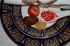 rosh hashanah seder plate table settings shana tova welcome to my rosh hashana table