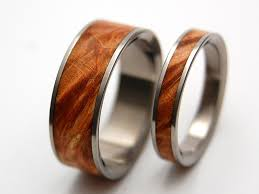wooden wedding ring sets grasp your inner go green consciousness with wooden wedding rings