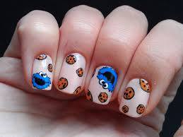 cookie monster nail art tutorial request youtube cookie monster