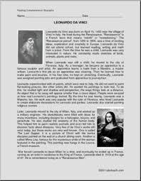 leonardo da vinci biography for elementary students biography leonardo da vinci elem upper elem abcteach