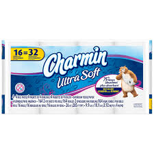 Charmin Bathroom Charmin Ultra Charmin Ultra Soft Toilet Paper 16 Double Rolls
