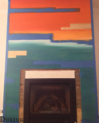 a fireplace made fabulous with spit thatsweettealife