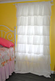 White Ruffled Curtains by Decidyn Com Page 129 Simple Bedroom With 2 Drawer Mirrored