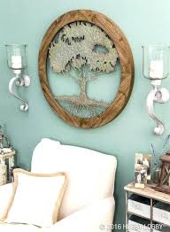 metal wall decor bright amazing circular candle wall sconces