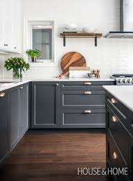 stickley kitchen island this two tone kitchen is incredibly organized maximize space