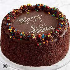cake for birthday enjoy three layer chocolate happy birthday cake gift ideas