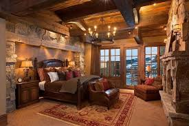 Rustic Master Bedroom Decorating Ideas - bedroom lighting gorgeous rustic master bedroom decor with iron