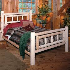 Log Bed Pictures by Cedar Log Dog Bed Cabin Place