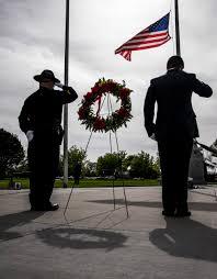 Fallen Officer Flag Defenders Remember Fallen Heros During Peace Officers Memorial Day