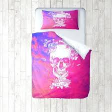Day Of The Dead Bedding Magenta Duvet Covers U2013 De Arrest Me