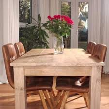Reclaimed Wood Dining Table - Rustic oak kitchen table