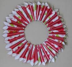 easy christmas wreath crafts cheminee website