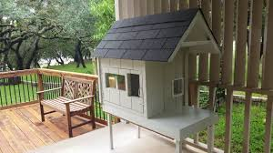 how to build a two story house built feral cat house holds 4 winter shelter how to build