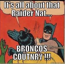 Broncos Raiders Meme - slappin batman memes quickmeme