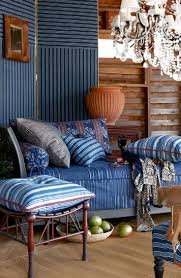 52 best blue white images on pinterest ralph lauren blue and ralph lauren home indigo isle fabric collection features ikats florals and stripes in deep indigo