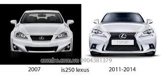 lexus is 250 body kit độ body kit is250 2007 2012 lên 2014 hành chính hãng