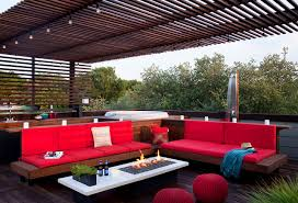 Austin Decks And Patios Rooftop Outdoor Living With A Tub And Shower Modern Patio